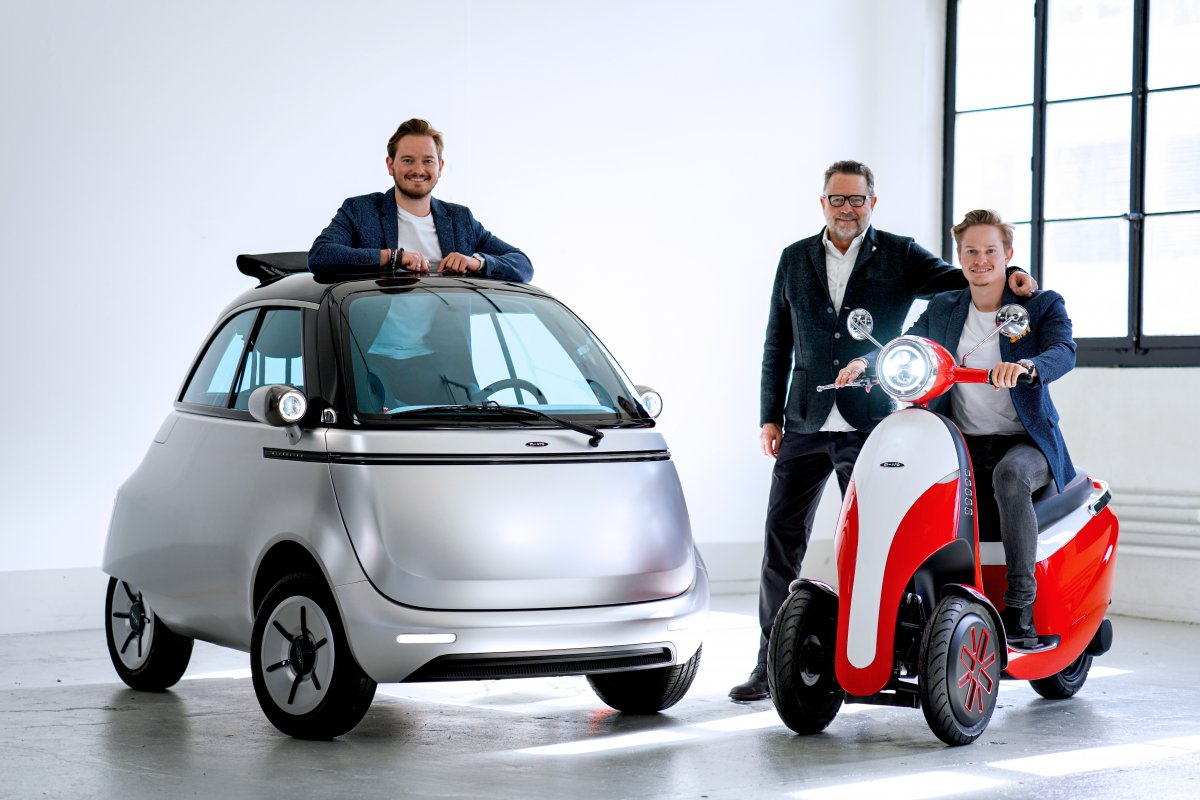 Grün gegründet (Teil 2): Microlino will mit Leichtelektromobilen durchstarten