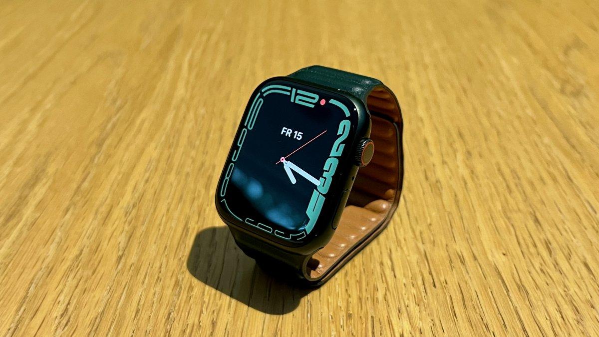 Apple Watch Series 7 im ersten Test: Die wichtigsten Erkenntnisse