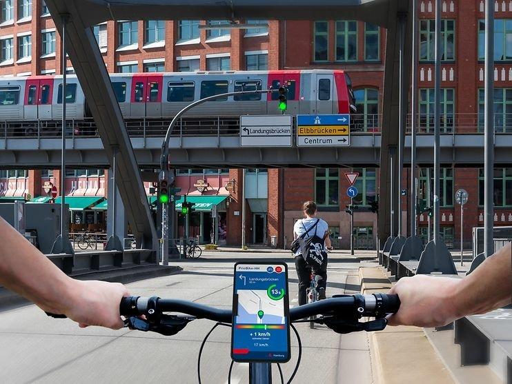 Grüne Welle für Radfahrer dank App
