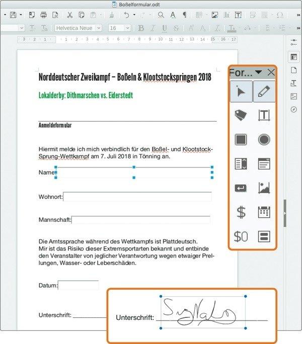 Tipp: Ausfüllbare PDF-Formulare mit Freeware erstellen