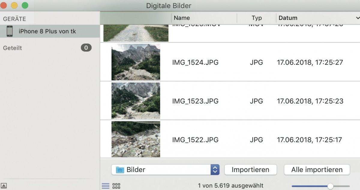 iPhone-Fotos an Mac übertragen – ohne iCloud und iTunes