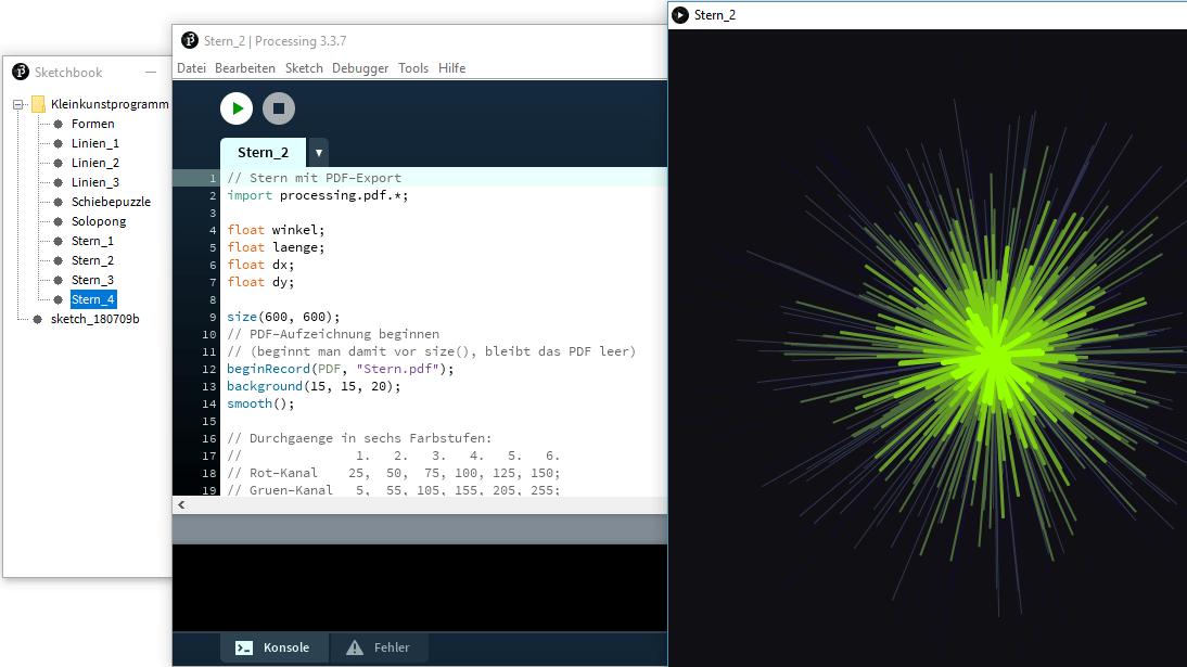 Processing: Programmieren für Anfänger
