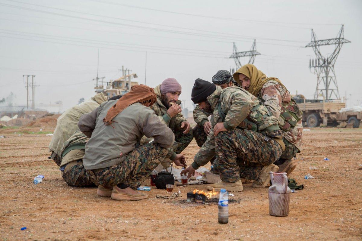 Rojava als geopolitisches Schlachtfeld