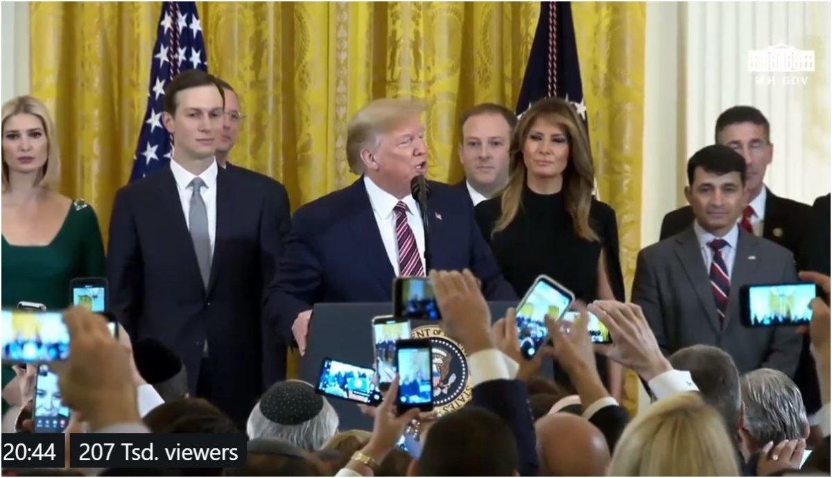 Trump will mit Präsidentenerlass gegen Antisemitismus in Schulen und Universitäten vorgehen