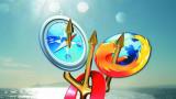 Bild mit Firefox-Logo