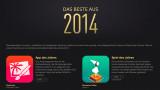 Apps des Jahres 2014– von Apple gekürt