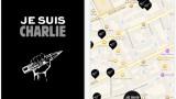 """Je suis Charlie""""-App innerhalb von einer Stunde durch"""