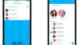 Skype-App mit verbesserter Kontaktaufnahme