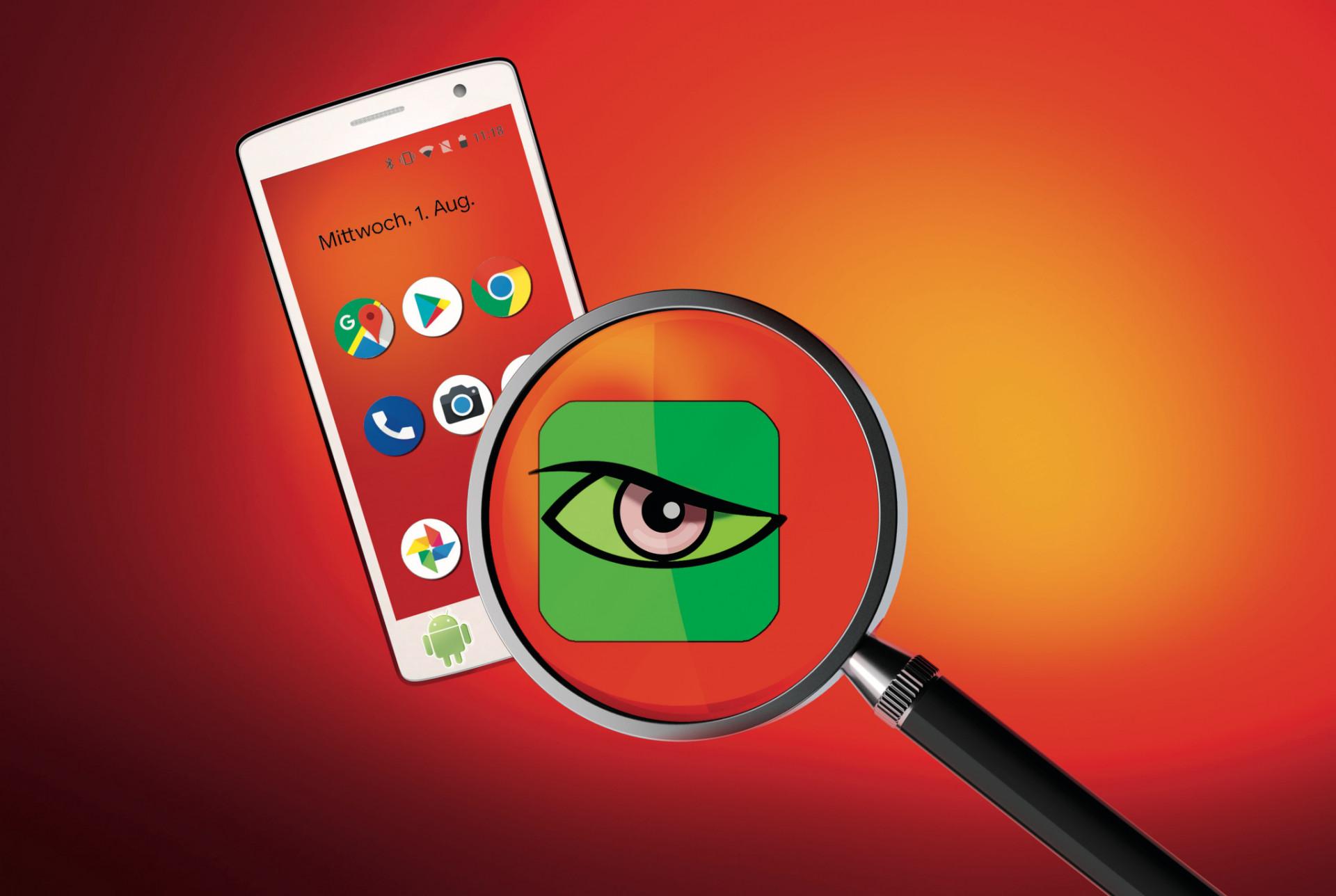 Spionage-Software unter Android erkennen und entfernen   c