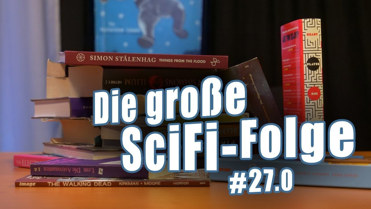 c't uplink 27.0: Unsere Lieblings-Science-Fiction-Bücher