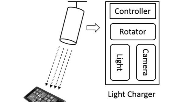 Microsoft: Lampe lädt Smartphones auf