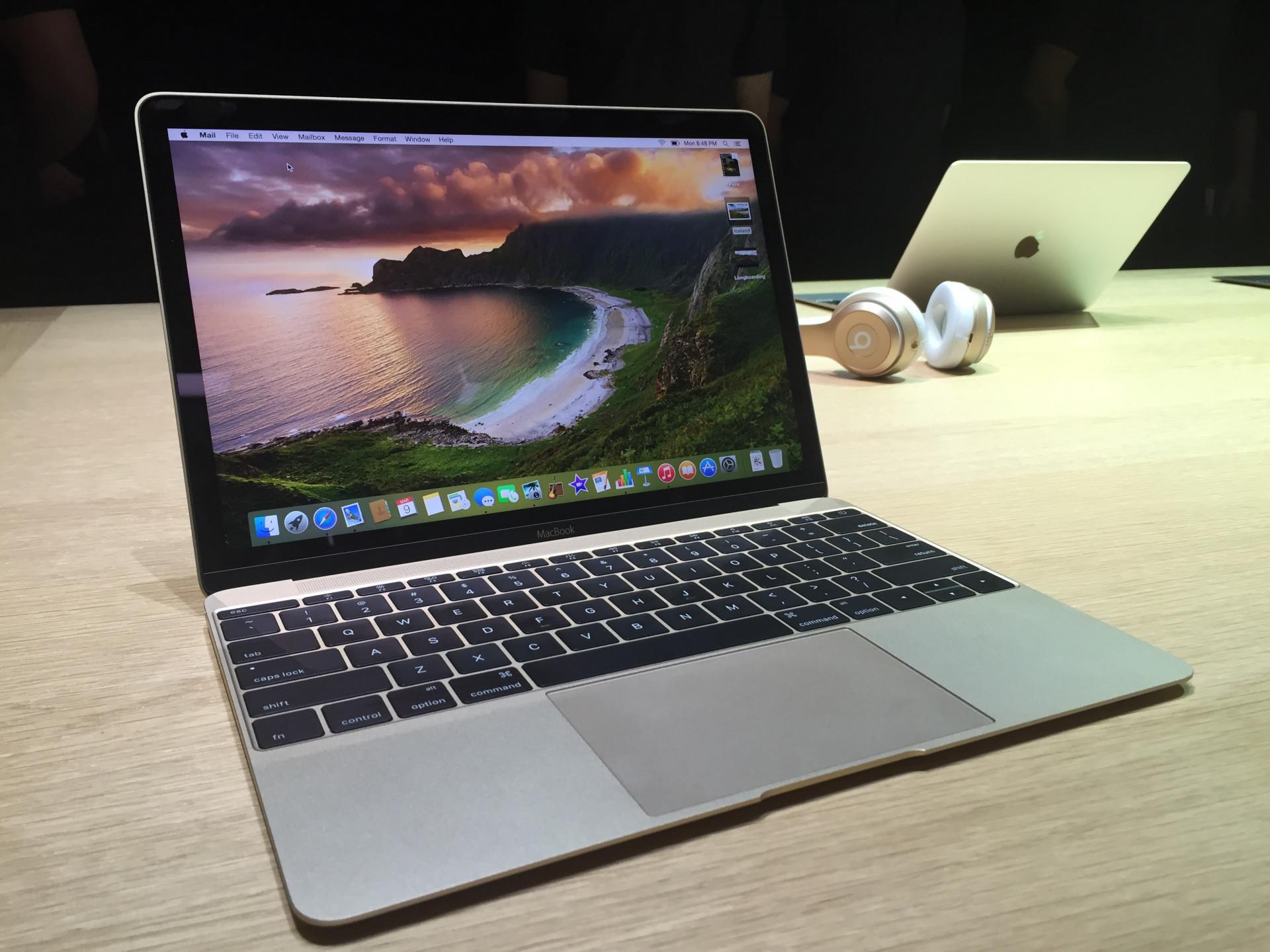 Hands-on: So fühlt sich das neue MacBook an