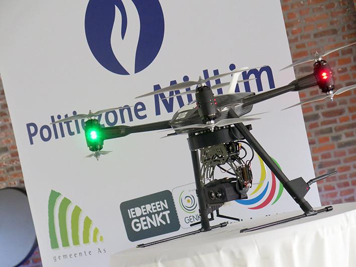 Drohne soll für belgische Polizei aufpassen