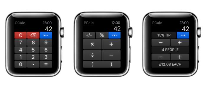 PCalc kommt auf die Apple Watch   heise online