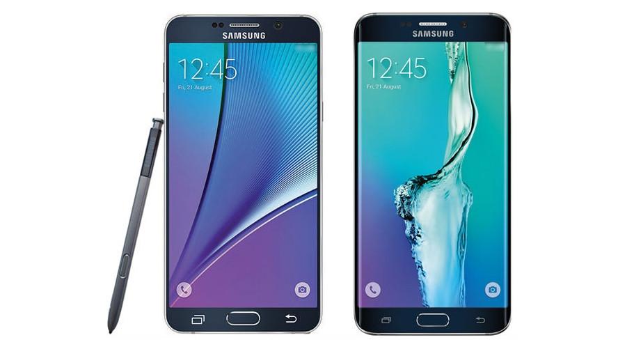 Samsung Galaxy Note 5 und S6 Edge+ werfen ihre Schatten voraus