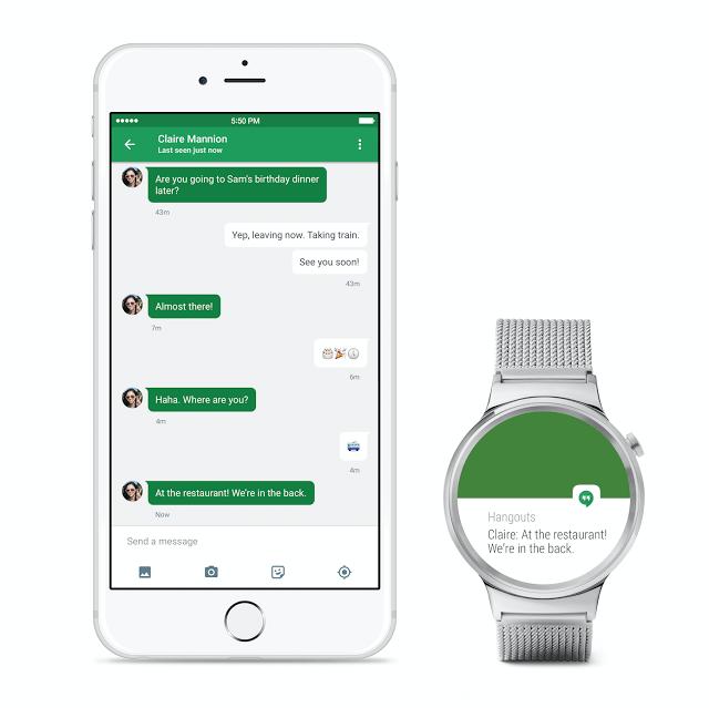 Googles Android Wear für iPhones veröffentlicht