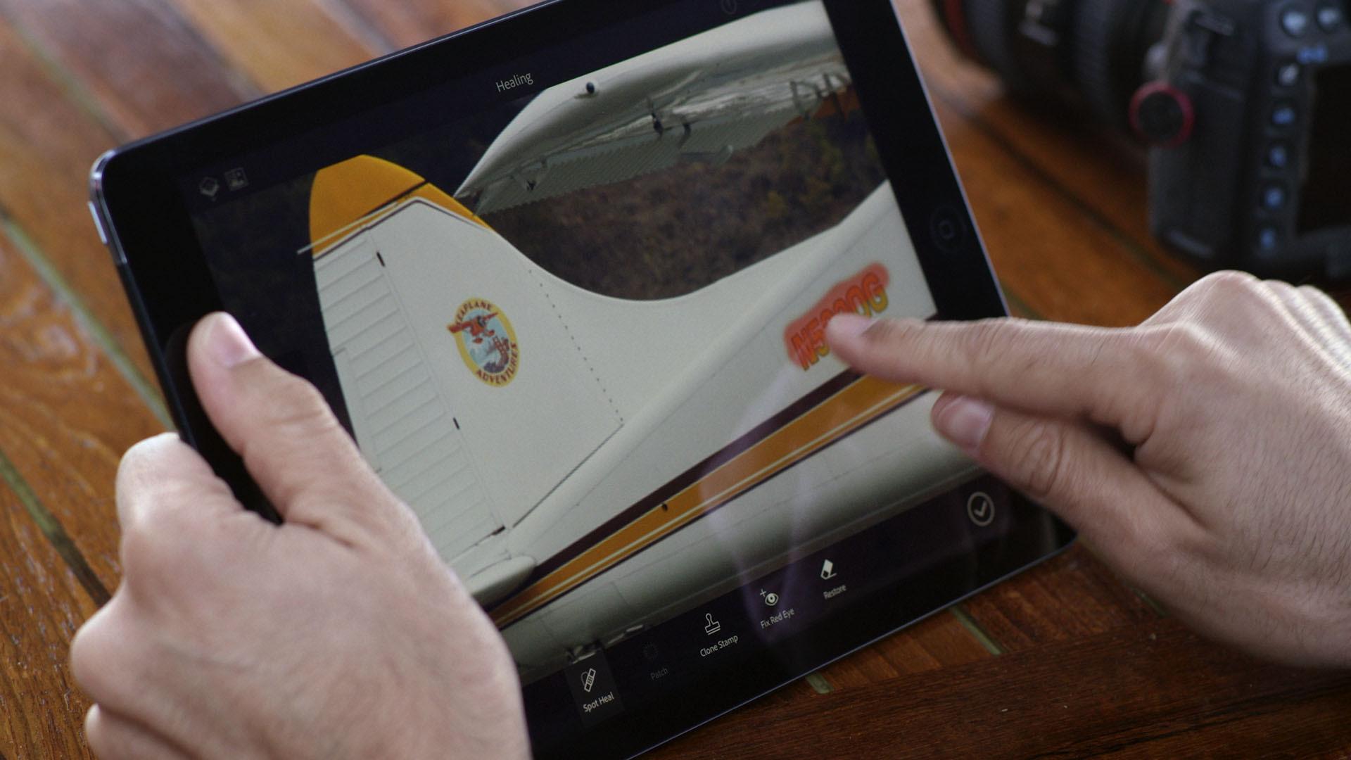 Adobe Lightroom und Photoshop Fix kostenlos für iPhone und iPad