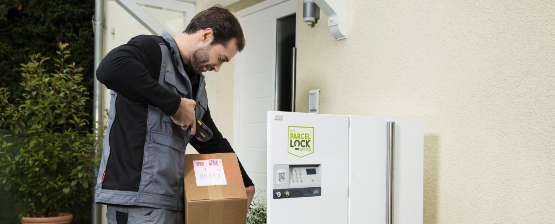 Parcellock: Hermes, DPD und GLS stellen Paketkasten vor