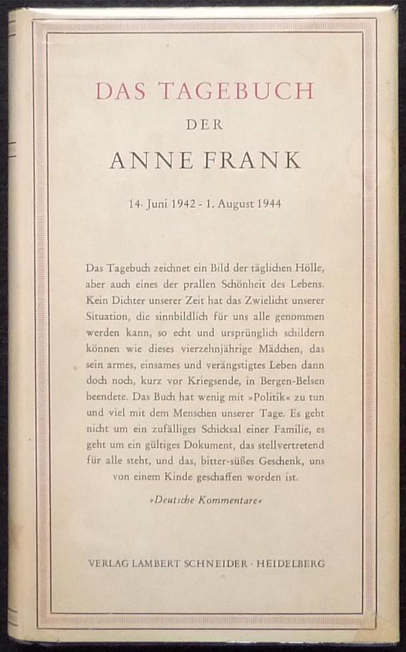 Urheberrechtsstreit Um Das Tagebuch Der Anne Frank Heise Online