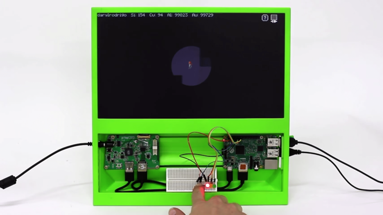 pi topceed all in one raspberry pi rechner f r 100 dollar. Black Bedroom Furniture Sets. Home Design Ideas