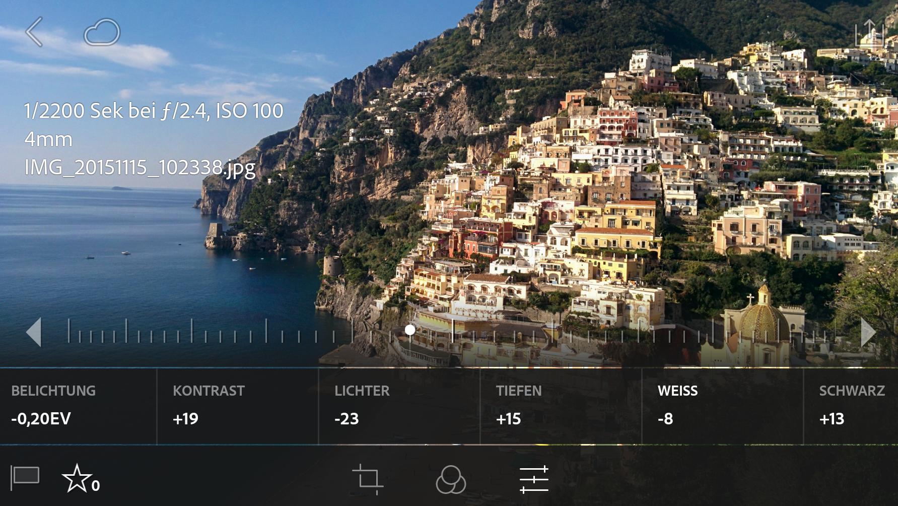 Lightroom Mobile 1.4 für Android und iOS kostenlos