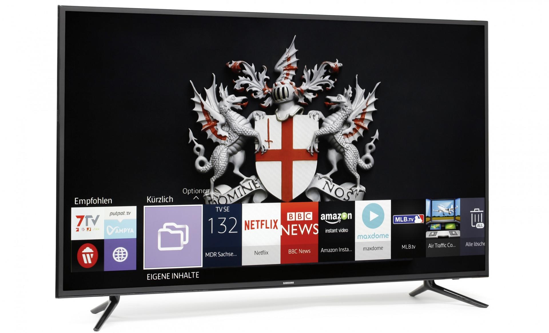 Samsungs 4K-Fernseher UE55JU6050U: Billig ist nicht gleich gut ...