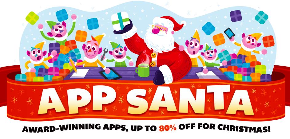 App Santa und 1-Euro-Apps zu Weihnachten | Mac & i