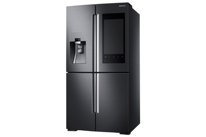 Kühlschrank Aufbau Funktionsweise : Ces samsung macht kühlschrank zum digitalen schwarzen brett