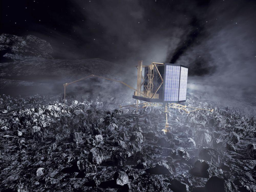 Kometensonde Rosetta: Lander Philae schweigt weiter