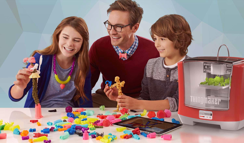 thingmaker spielzeug hersteller mattel steigt in den 3d. Black Bedroom Furniture Sets. Home Design Ideas
