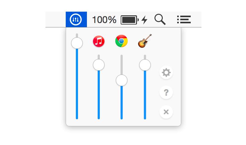 Volume Mixer: Mac-Tool regelt App-Lautstärke einzeln