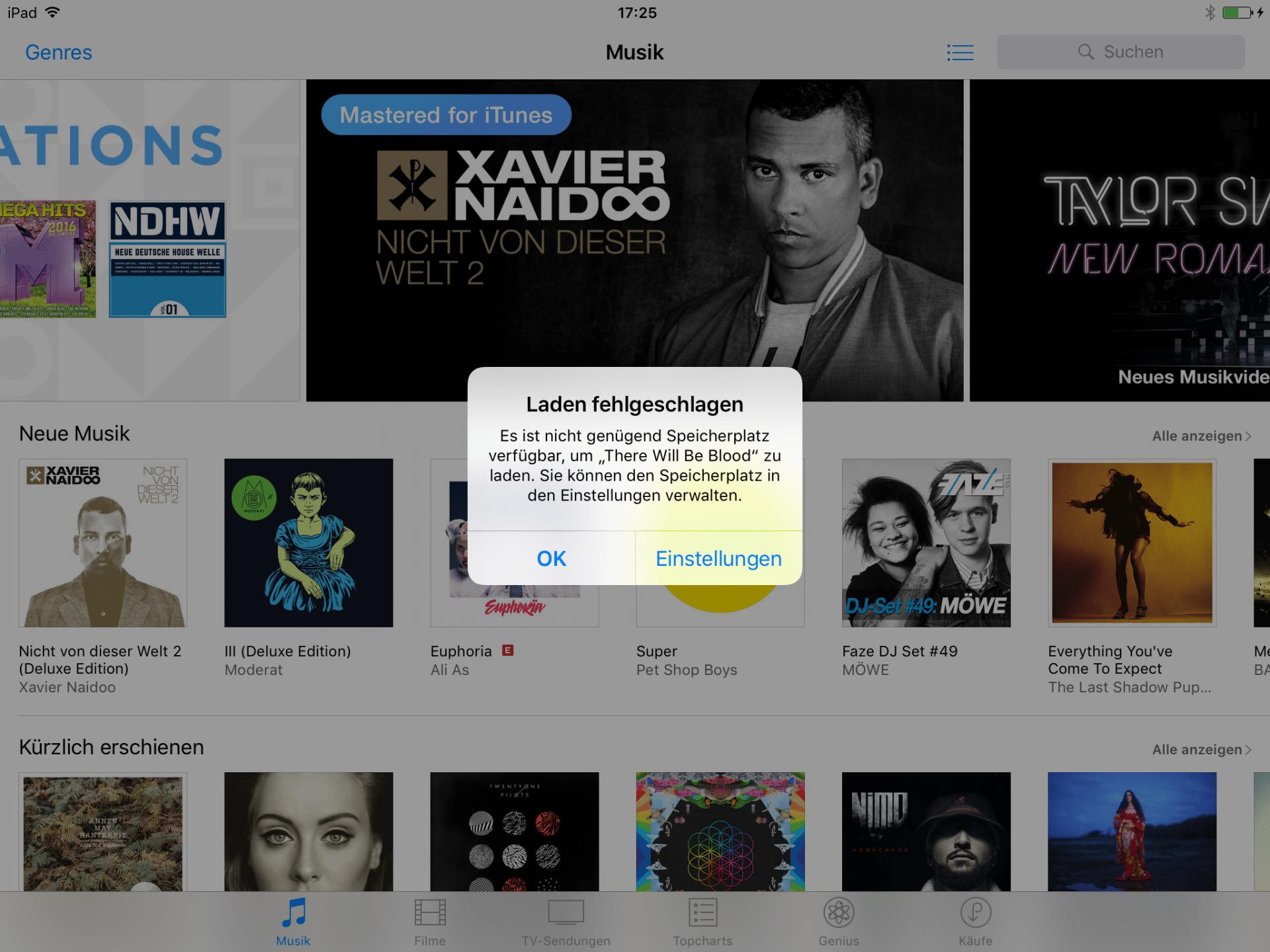 iOS-Tipp: Film-Download schaufelt Speicherplatz frei