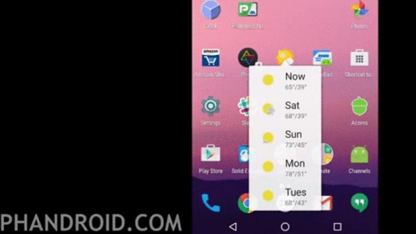 Android N: Nova Launcher gibt Vorgeschmack auf Force Touch