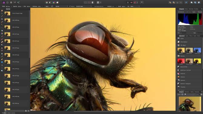 Bildbearbeitung Affinity Photo 1.5 funktionsgleich für Windows und macOS erschienen