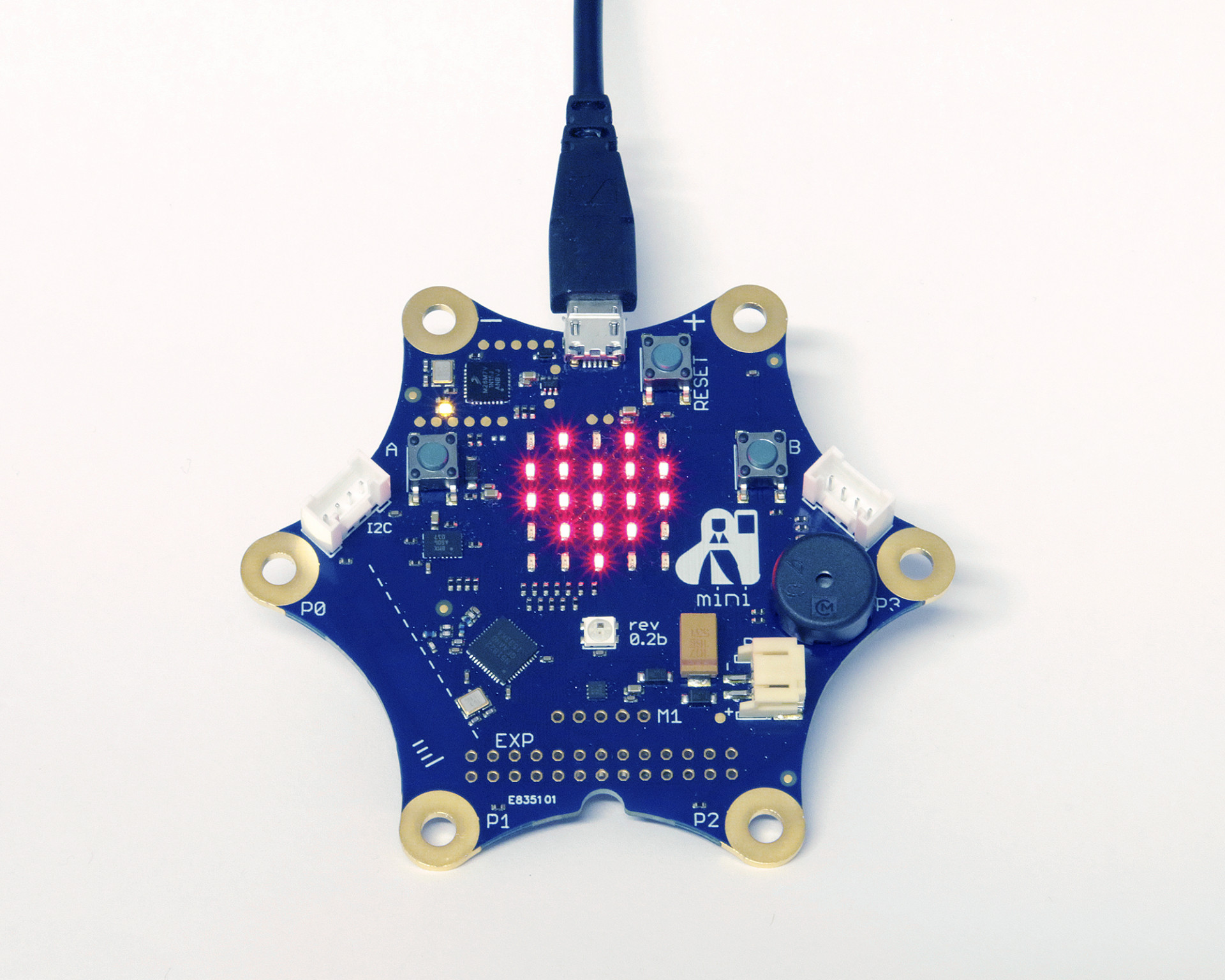 Lern Mikrocontroller Calliope mini startet Crowdfunding