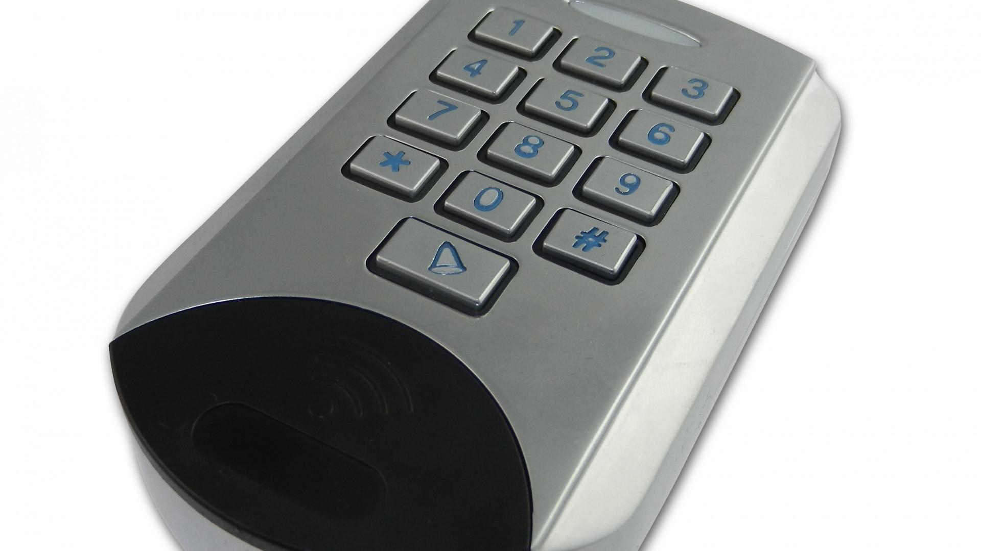 smart home komponenten z wave keypad und enocean. Black Bedroom Furniture Sets. Home Design Ideas