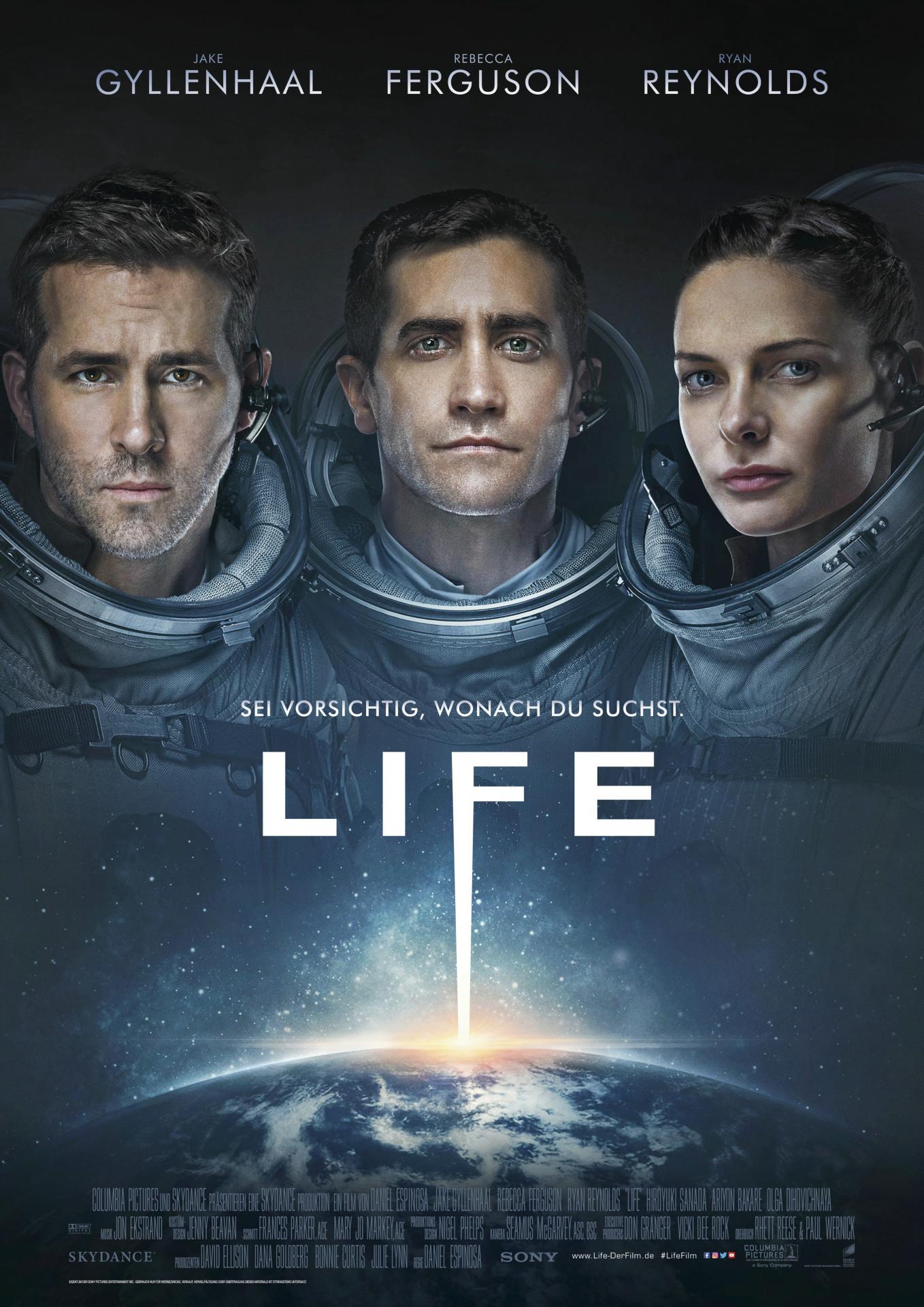 Science Fiction Film Life Der Scifi Thriller Bausatz Heise Online