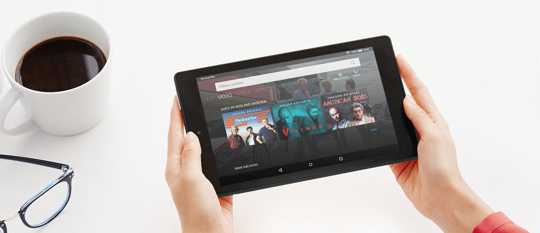 amazon tablets neue ausgaben von fire 7 und fire hd 8. Black Bedroom Furniture Sets. Home Design Ideas