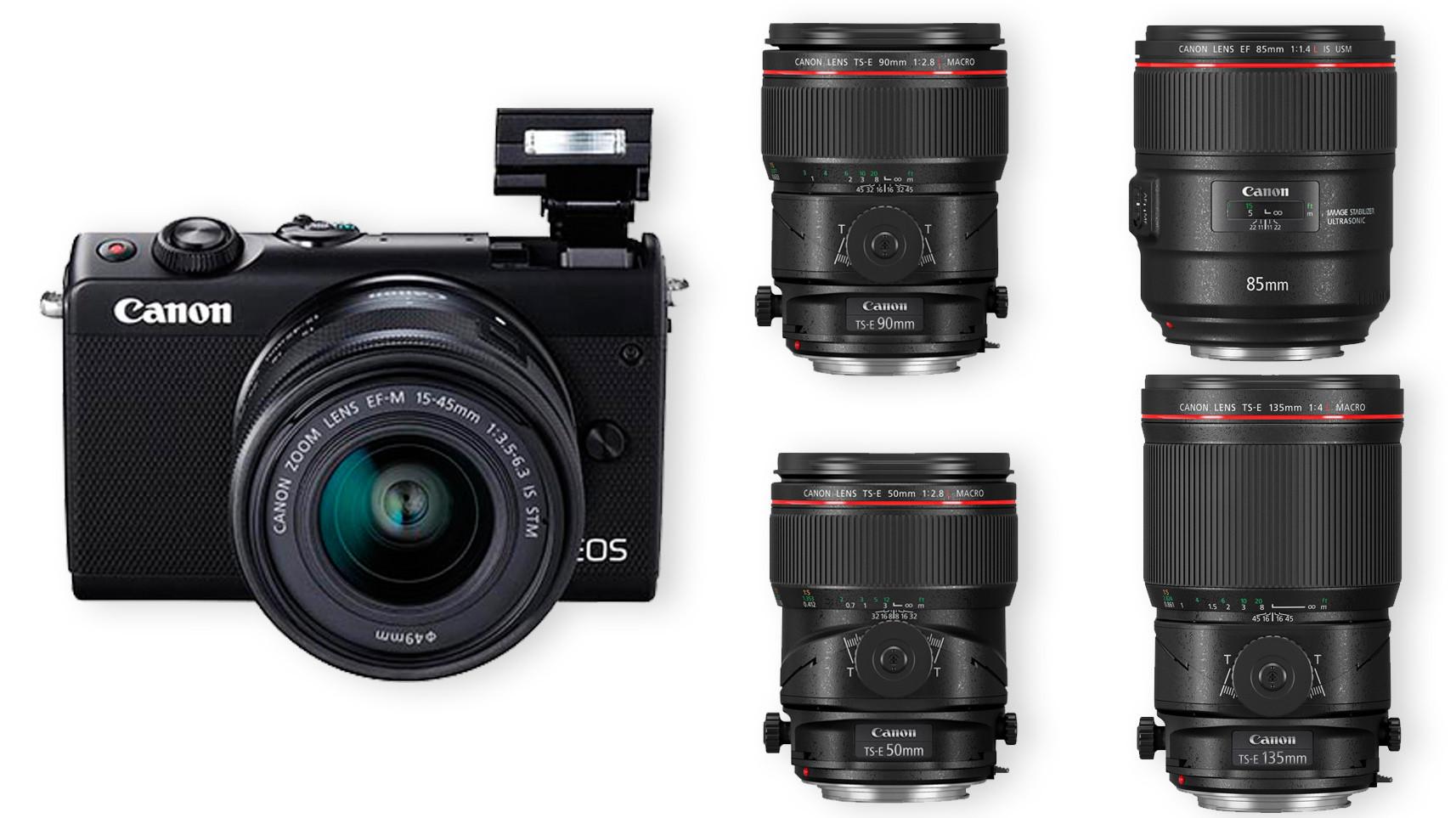 Canon stellt spiegellose 24-MP-Systemkamera EOS M100 und neue Profi ...
