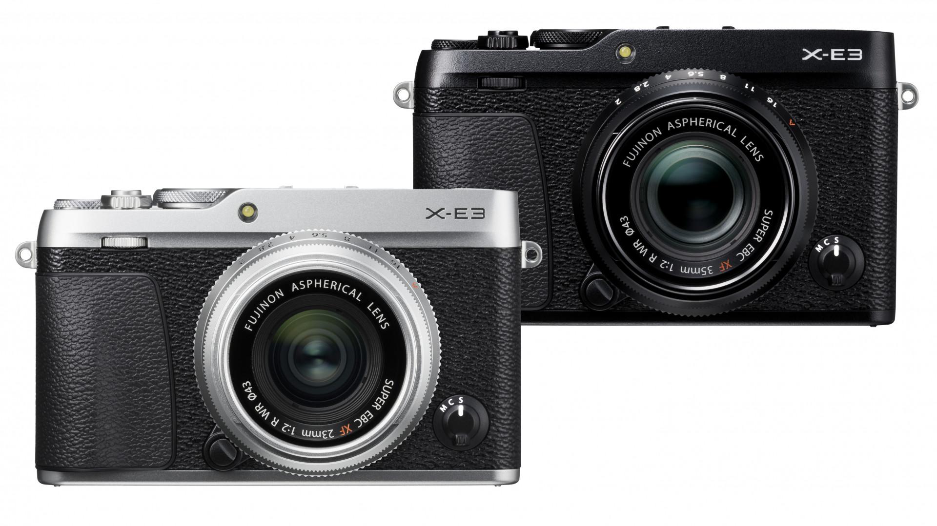 Kompakte Systemkamera Fujifilm X E3 Mit Touchdisplay Und Bluetooth Kit Xf 23mm F2 Black 35mm Ct Fotografie