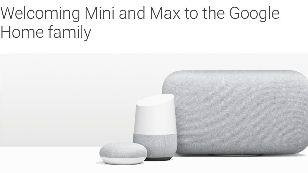 google home mini und max smarte lautsprecher f r jeden geschmack heise online. Black Bedroom Furniture Sets. Home Design Ideas