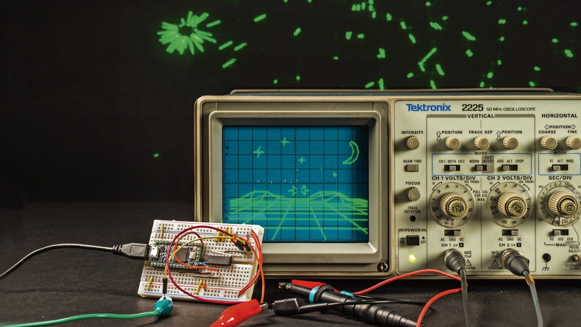 Retro gaming mit dem arduino make