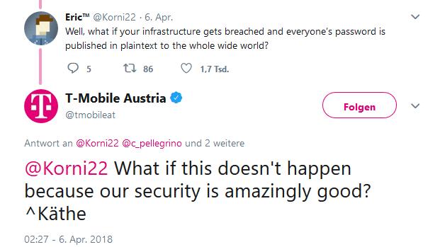 T Mobile Austria Will Nach Twitter Shitstorm An Der It Sicherheit