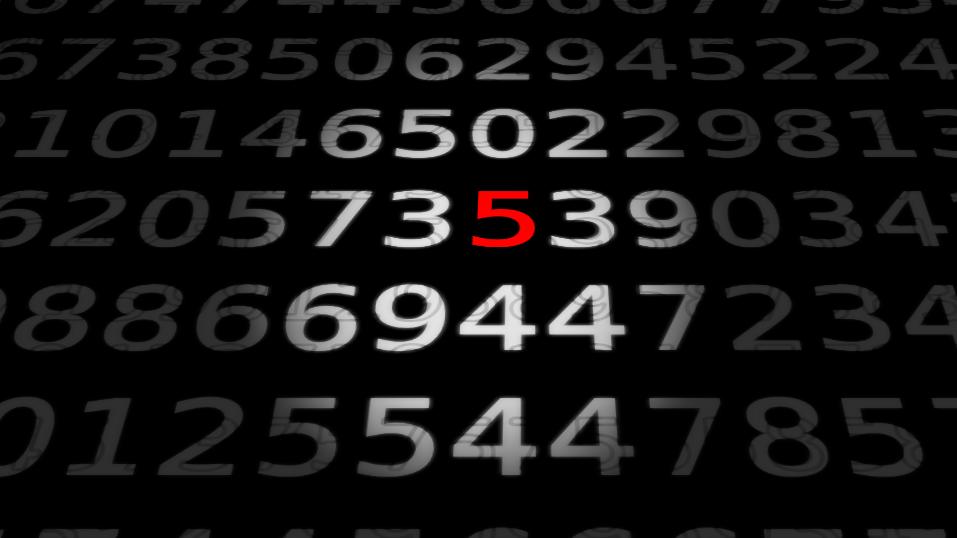 Zahlen, bitte! 5 - Wie bunt ist die Ebene?