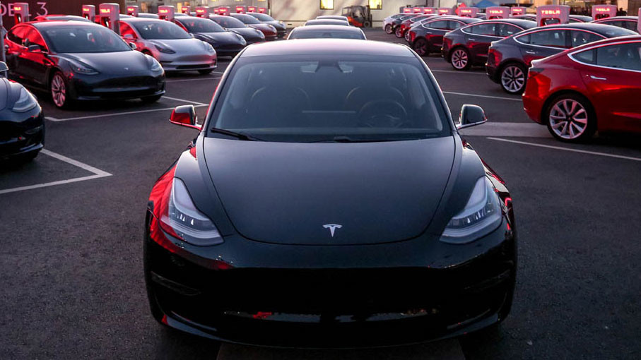 Image result for tesla model 3 2019