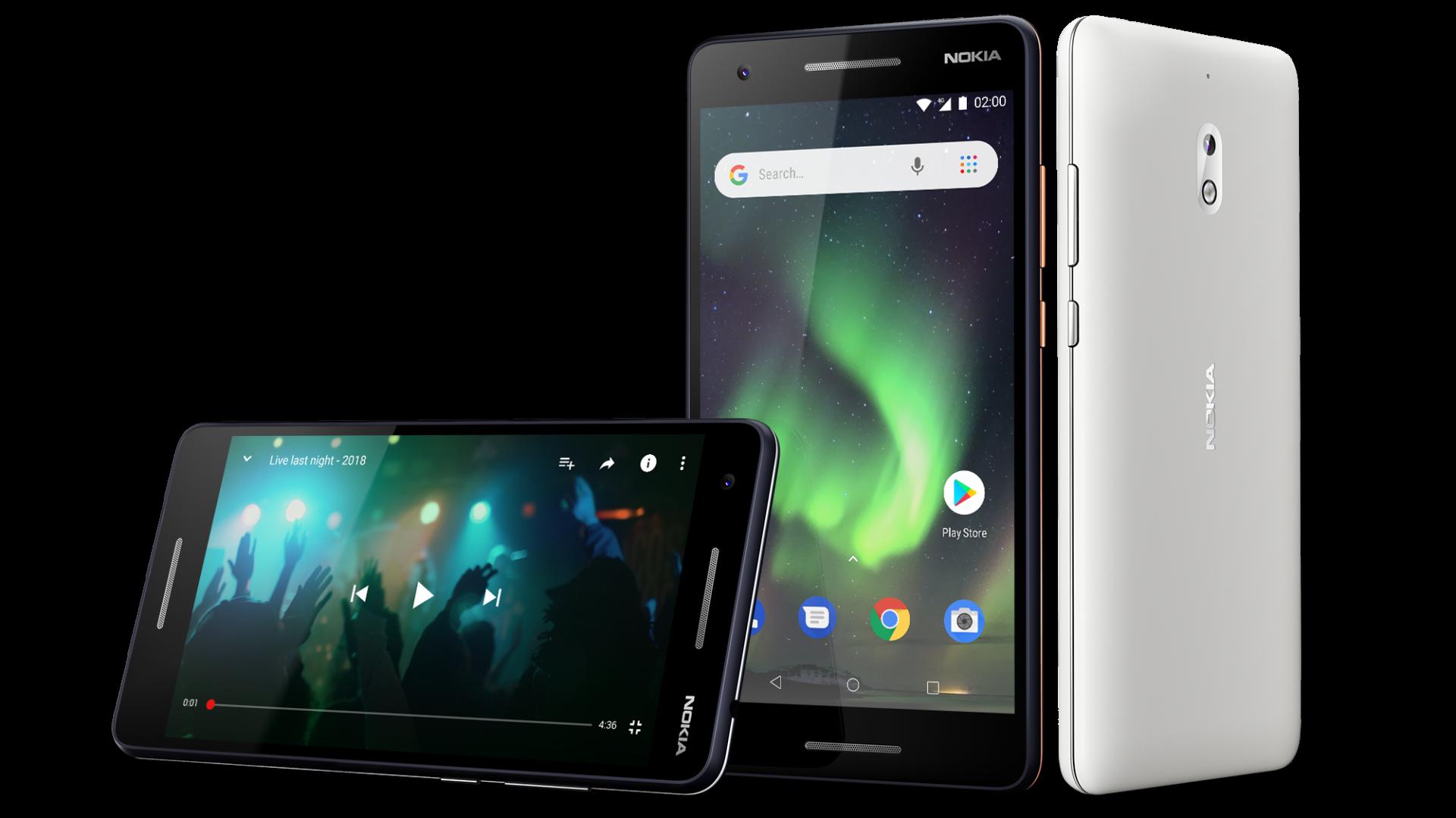 nokia 2 1 3 1 und 5 1 g nstige smartphones mit android one und go heise online. Black Bedroom Furniture Sets. Home Design Ideas