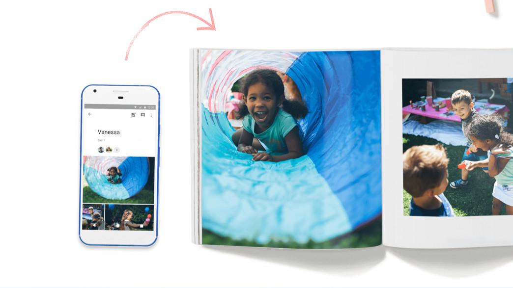 Google Fotos startet Fotobuch-Service