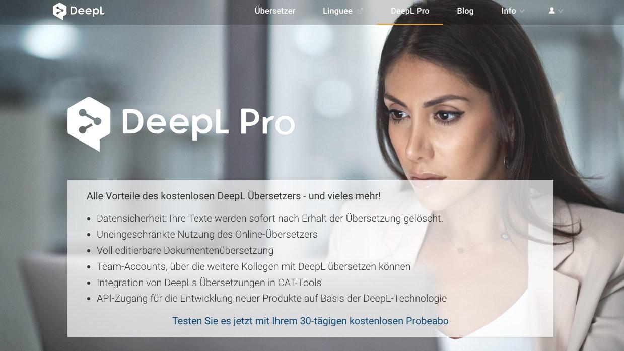 Online-Übersetzer: DeepL Pro wird günstiger   heise online
