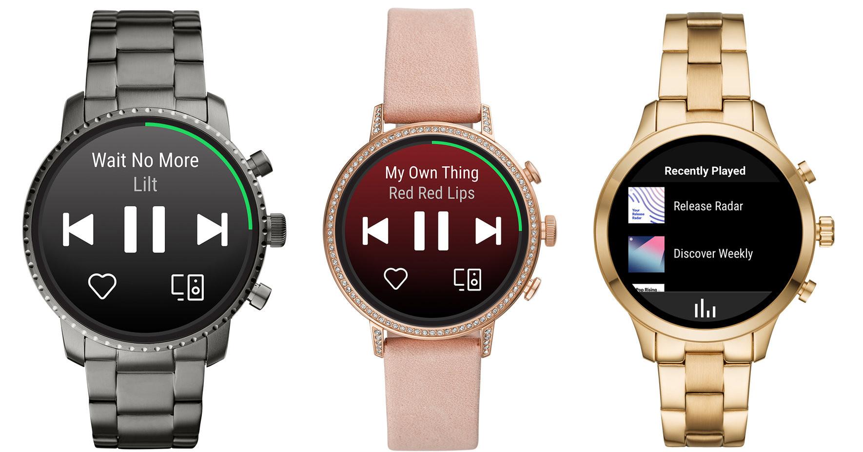 QnA VBage Spotify-App kommt auf Smartwatches mit Googles Wear OS