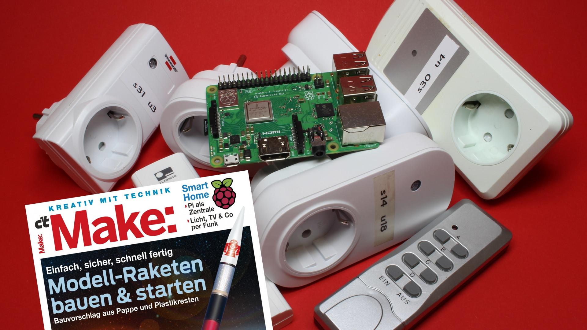 Smart Home: Pi steuert Funksteckdosen